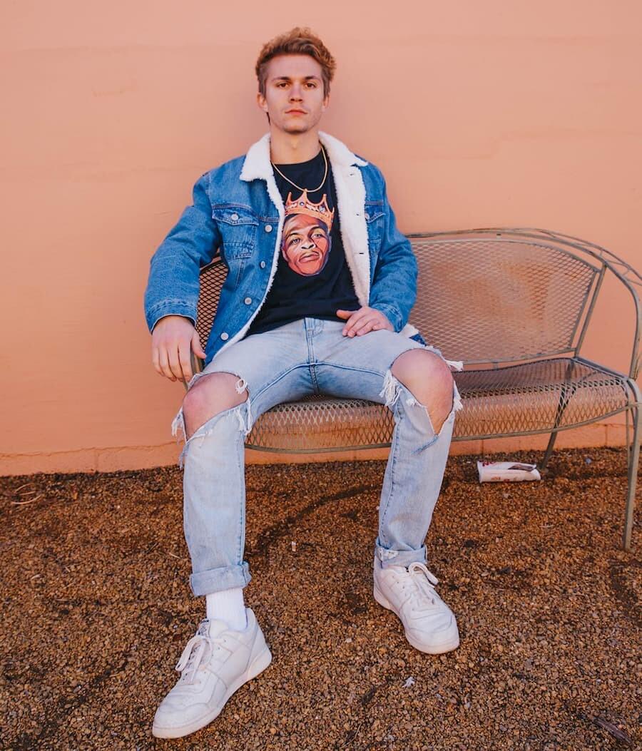 tenue streetwear homme