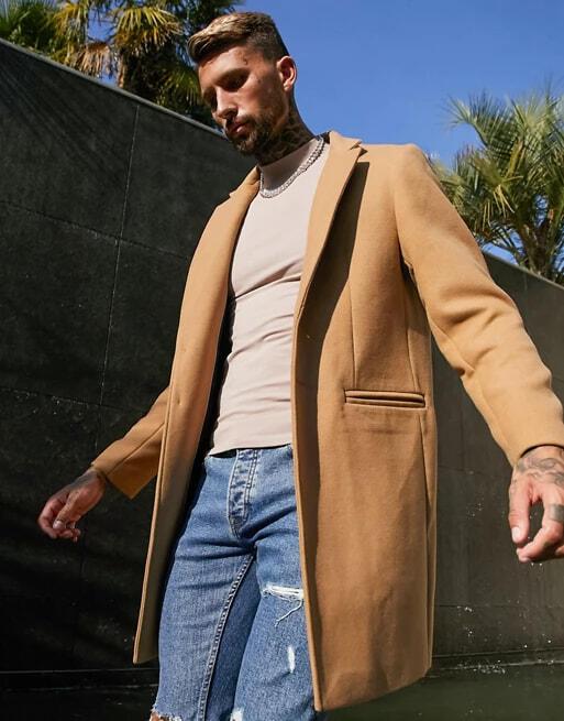 tenue veste longue homme