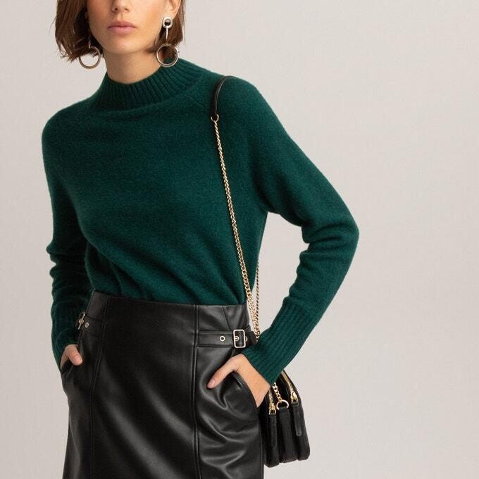 tenue pull vert femme