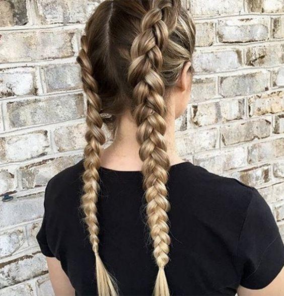 coupe-cheveux-long-double-tresse-tendance-femme