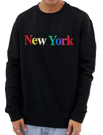sweatshirt_noir_new_york_multicolor