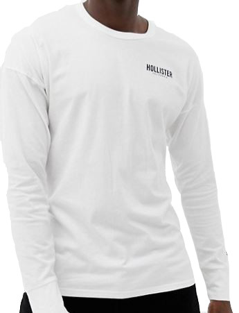 tee_shirt_hollister_blanc_inscription_torse
