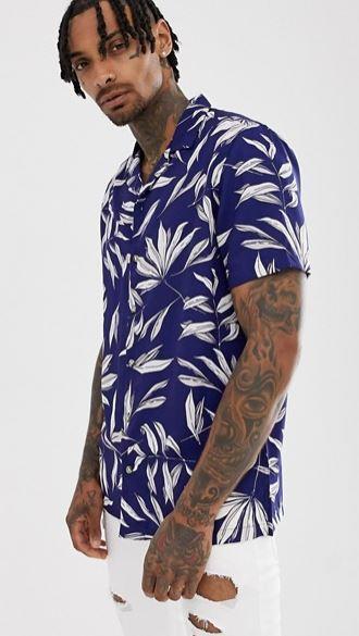 chemise-a-fleur-coupe-classique