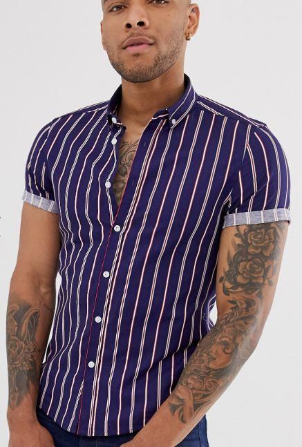 chemise-cintree-a-rayures