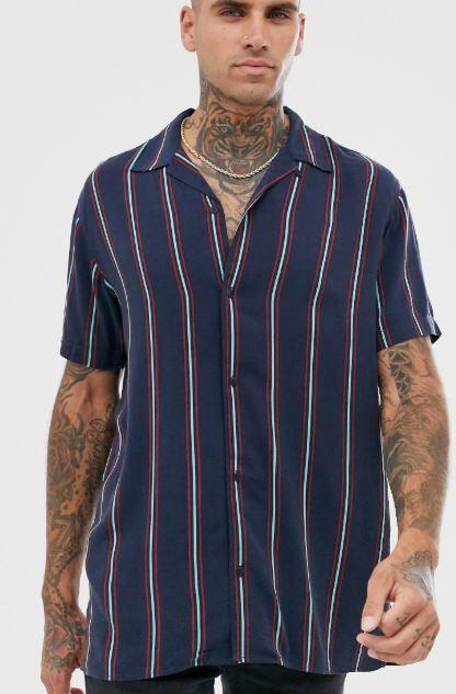 chemise-jack-and-jones-a-rayures