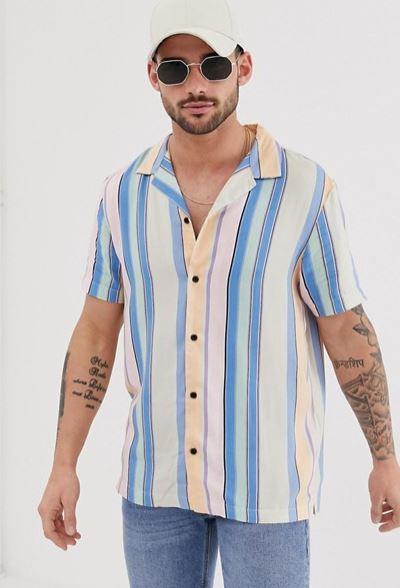 chemise-river-island-a-rayures
