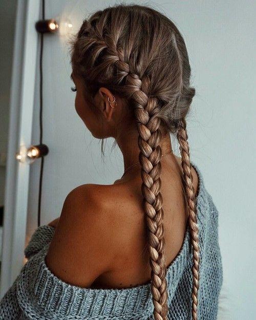 cheveux-long-femme-double-tresse