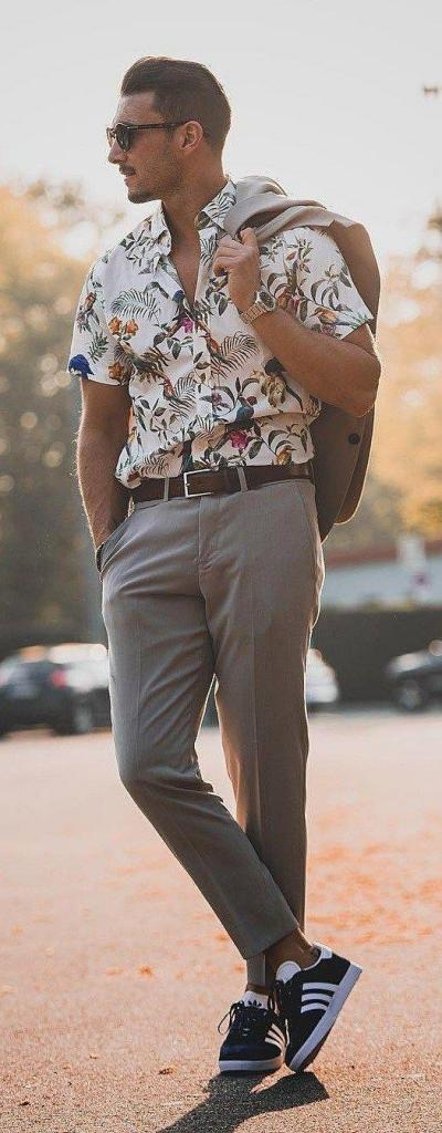 chemise été homme