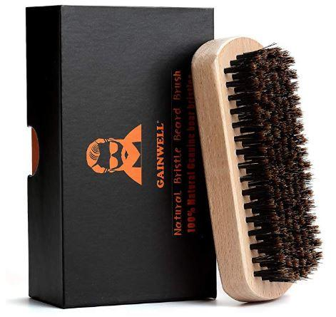 brosse a barbe poils sanglier