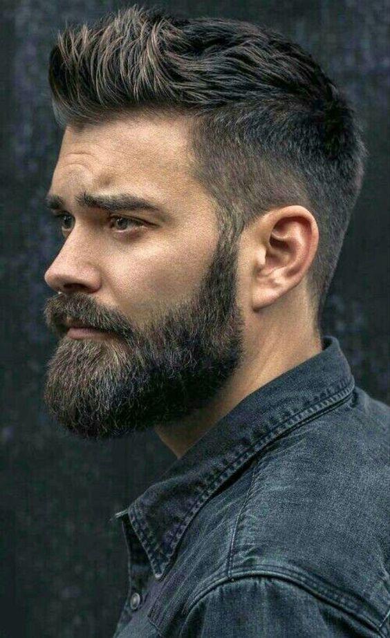 homme-avec-une-barbe-aux-contours-arrondi