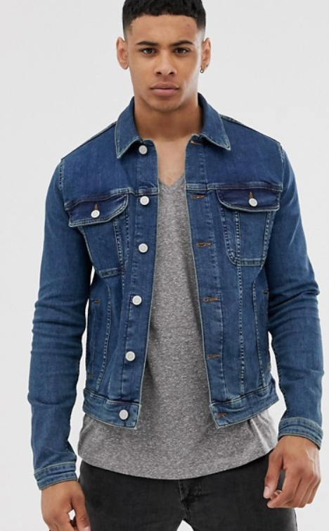 Veste en jean pour bien s'habiller en automne