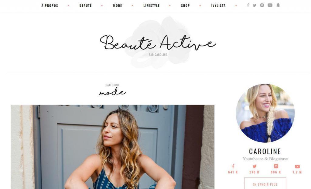 blog de mode pour femme beauteactive