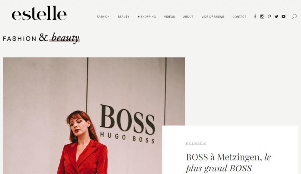 Blog de mode femme estelle