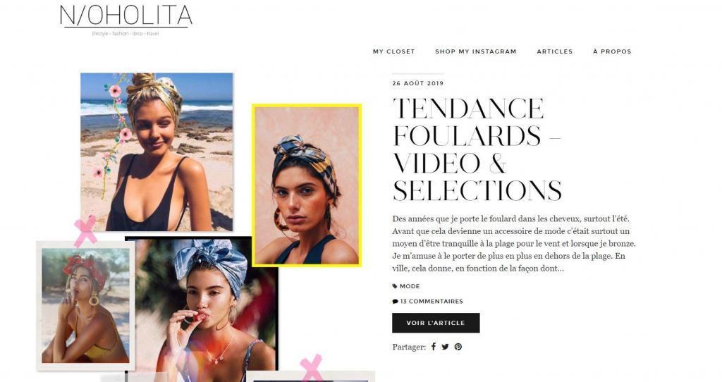 blog de mode pour femme noholita