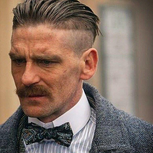 coupe de cheveux peaky blinders arthur shelby