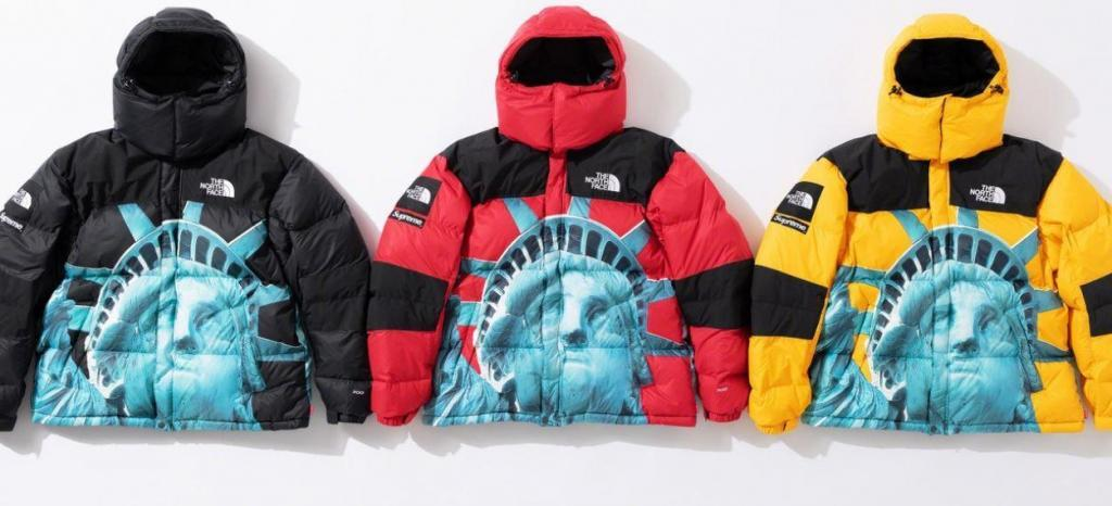 doudoune supreme x the north face