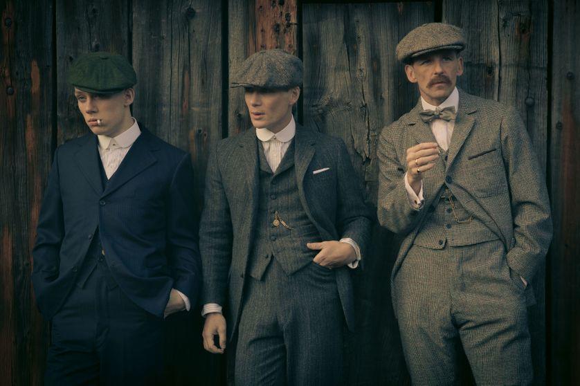 costume 3 pièces pour s'habiller comme un peaky blinders