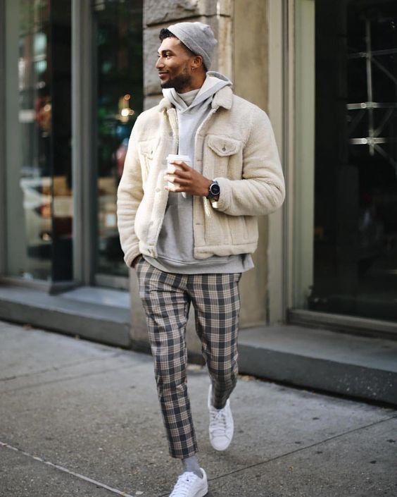 bien s'habiller en hiver pantalon en laine