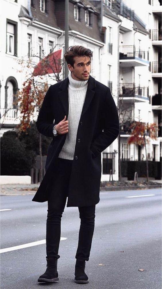 comment bien s'habiller en hiver col roulé