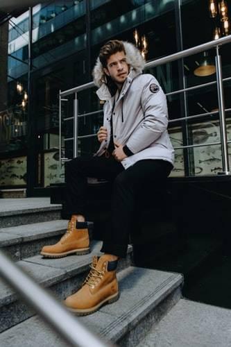 comment bien s'habiller en hiver chaussures timberland