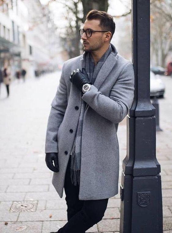 comment bien s'habiller en hiver veste longue