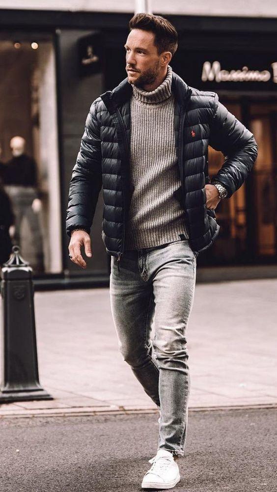 comment bien s'habiller en hiver veste matelassée