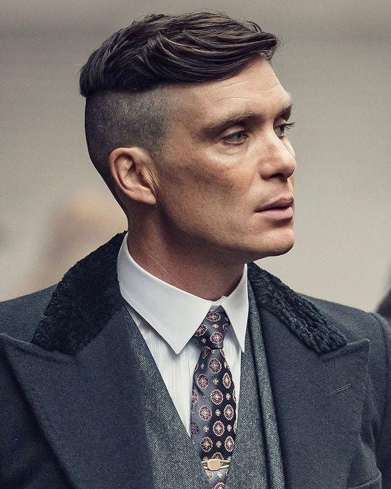 dégradé court peaky blinders