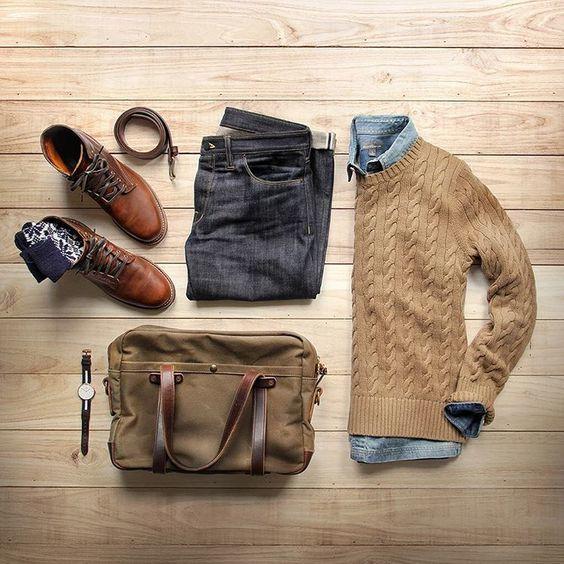 tenue d'hiver pour homme par @thepacman82