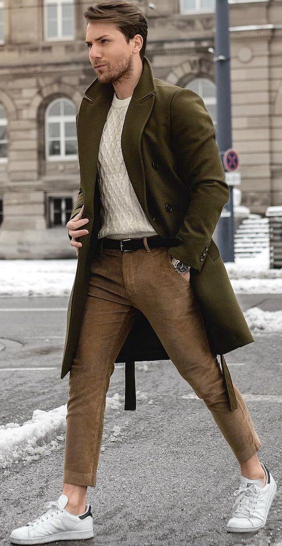 Tenue d'Hiver Homme : Nos Looks Modernes
