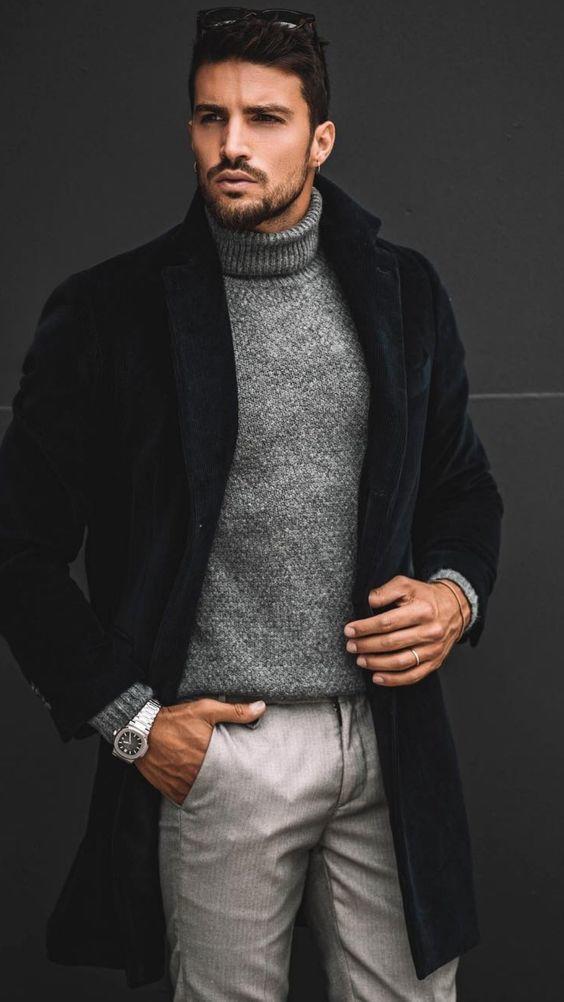 tenue hiver pour homme