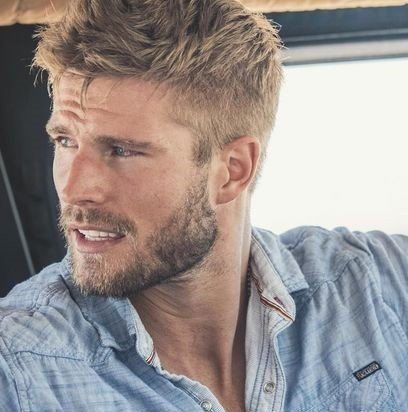 type de barbe courte pour homme