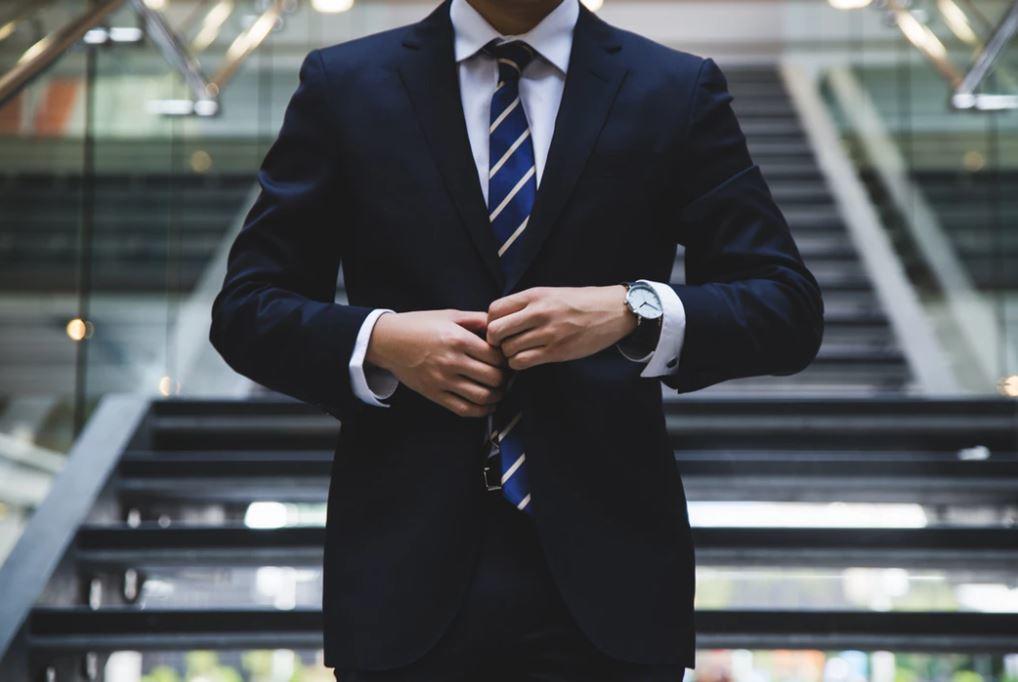 type de costume pour homme
