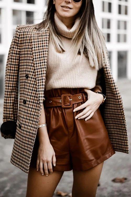 tenue hiver short femme
