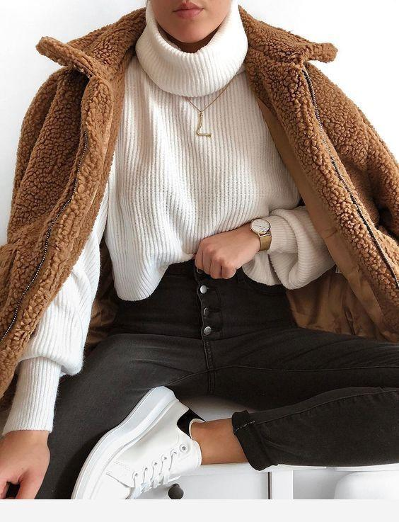 tenue hiver femme 2020