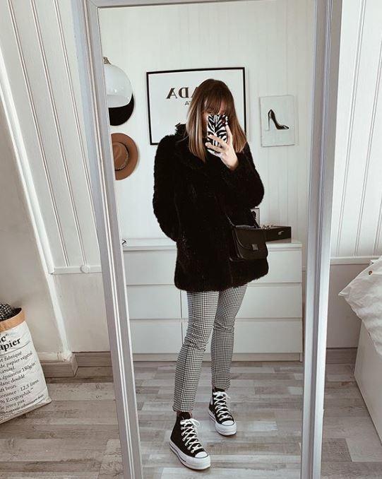 tenue hiver tendance pour femme
