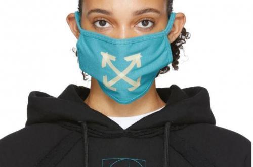 masque de protection off white