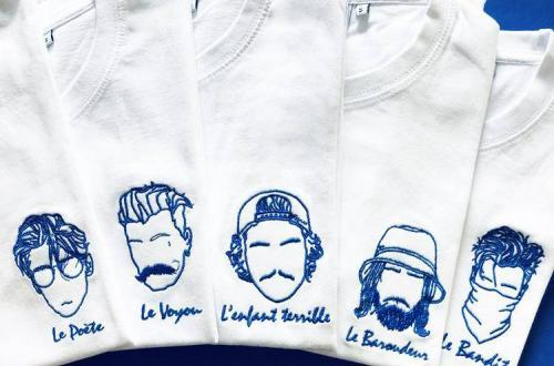 tee-shirt edgard l'élégant