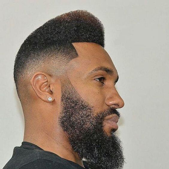 coiffure afro homme