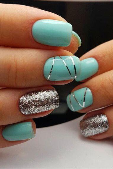 nail art paillette