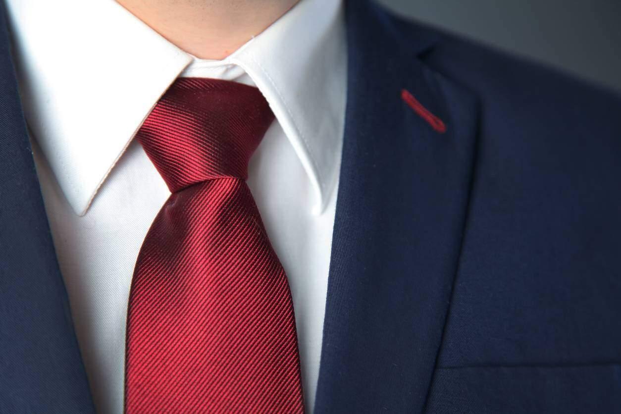 cravate look homme
