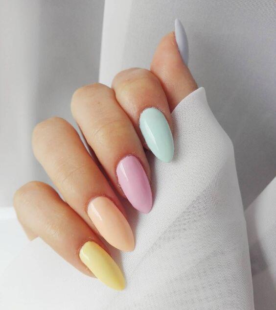 idée nail art été