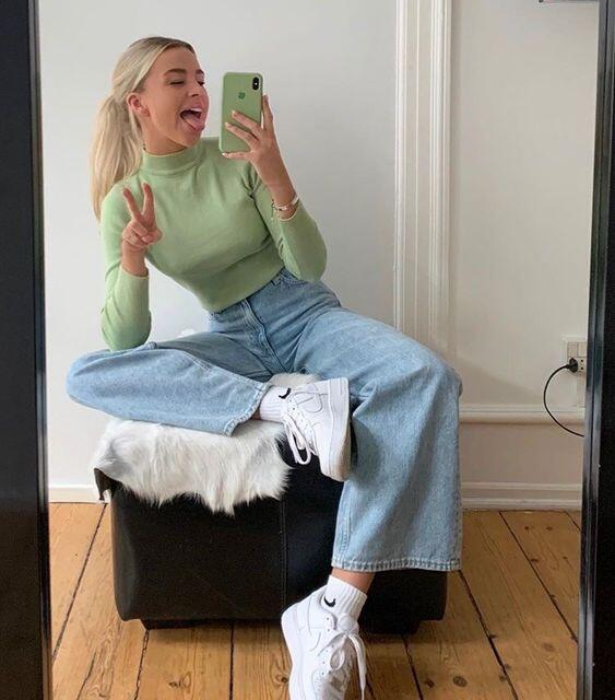 tenue vintage femme