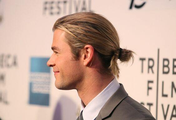 coupe de cheveux longs homme