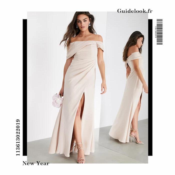 tenue nouvel an femme robe longue