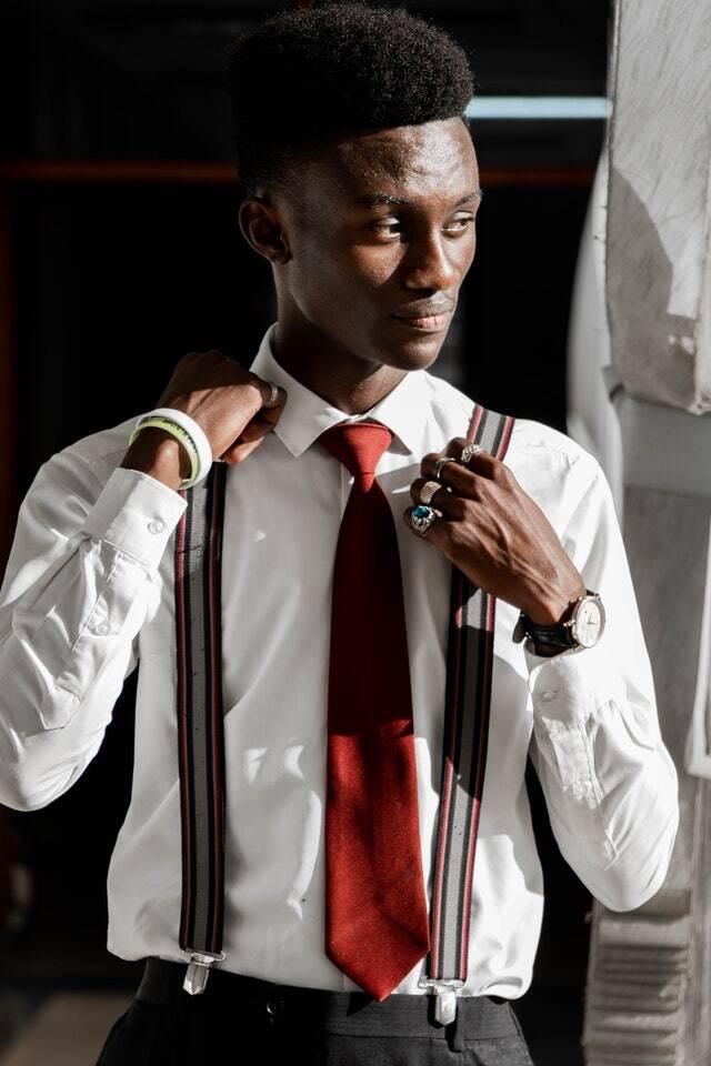 bonne longueur d'une cravate