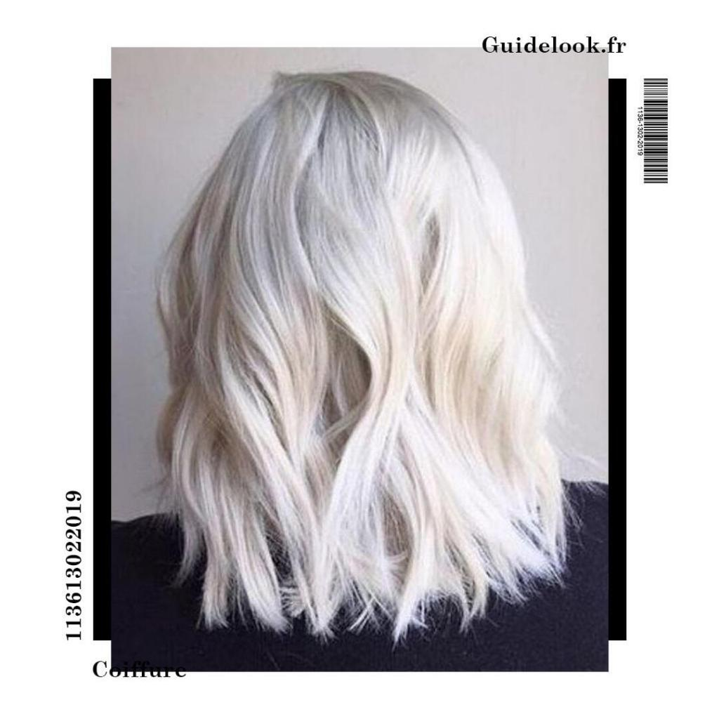 coupe blond polaire