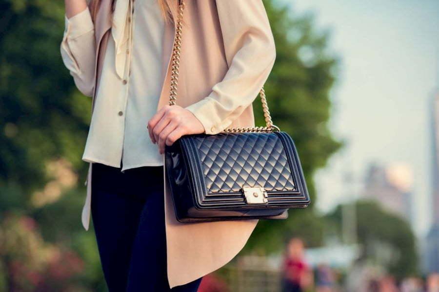 contre façon sac de luxe