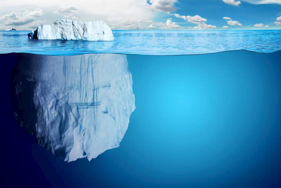 soin de la peau eau iceberg