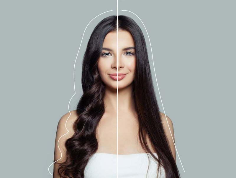 cheveux lisses naturel