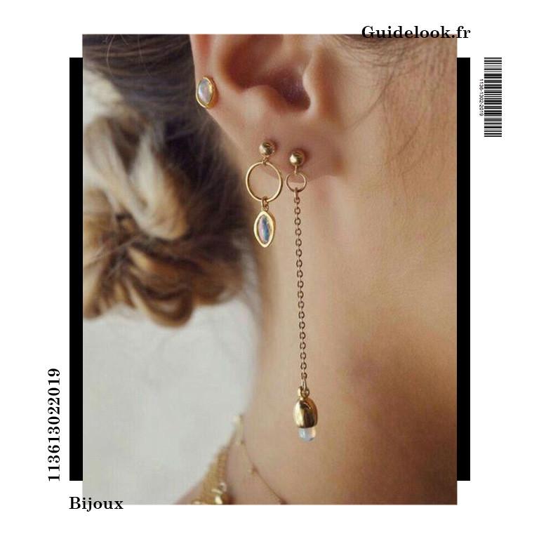 idée piercing oreille chic